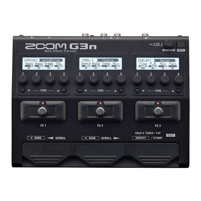 ZG3N-OB Zoom G3N Intuitive Multi-Effects Processor for Guitarists