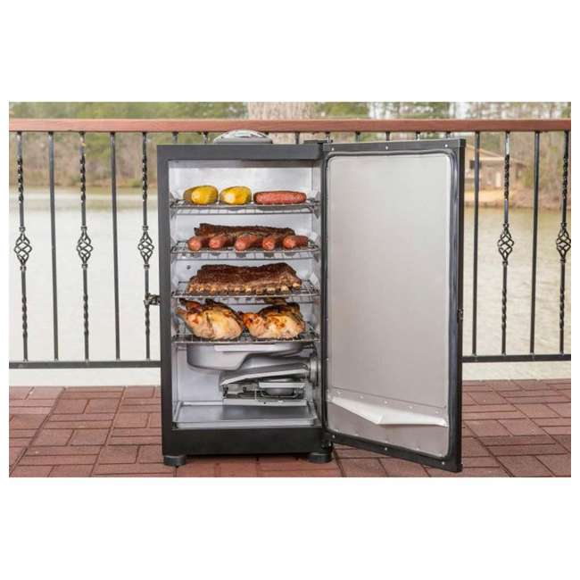 """3 x MB20071117 Masterbuilt Outdoor Barbecue 30"""" Electric BBQ Meat Smoker Grill, Black (3 Pack) 4"""