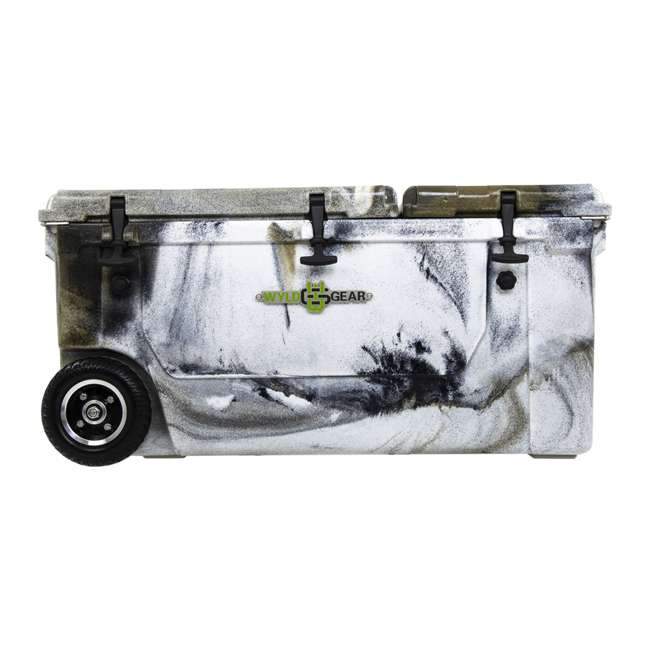 HC75-17P WYLD 75 Quart Pioneer Dual Compartment Insulated Cooler w/ Wheels, Prairie Camo 2