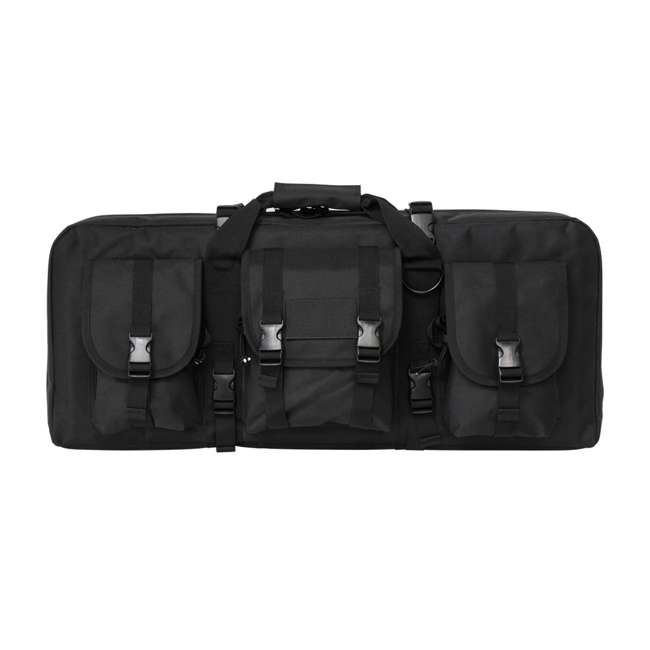 CVCPD2962B-28 NcSTAR VISM 28 Inch Double Pistol & Subgun Padded Soft Gun Case Carry Bag, Black 2