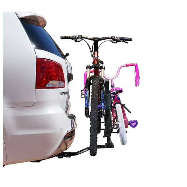 "B01311 Let's Go Aero B01311 5/8"" BikeWing-2 Tilting Two Bike Rack W/ NoMotion Transport 5"
