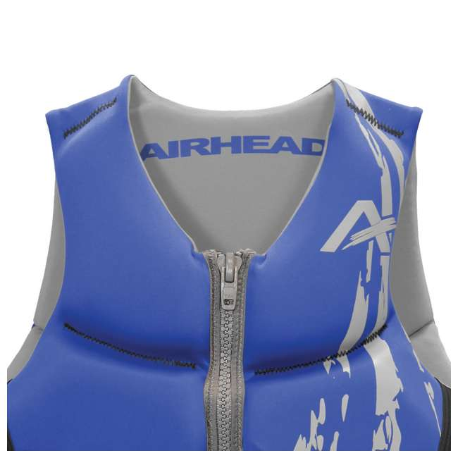 10 x 10076-09-B-BL Airhead Swoosh Neolite Adult Medium Life Vest, Blue (10 Pack) 3