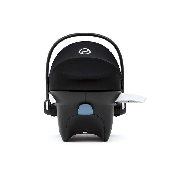 518002095 Cybex Aton M Newborn Infant Baby Car Seat with SafeLock Base, Manhattan Gray 2