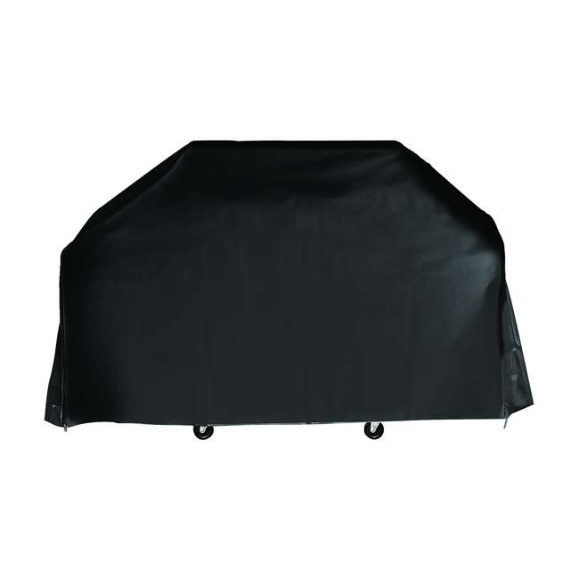 79867GB Grill Boss Heavy Duty Weather Proof Outdoor Universal Gas Grill Cover, Black