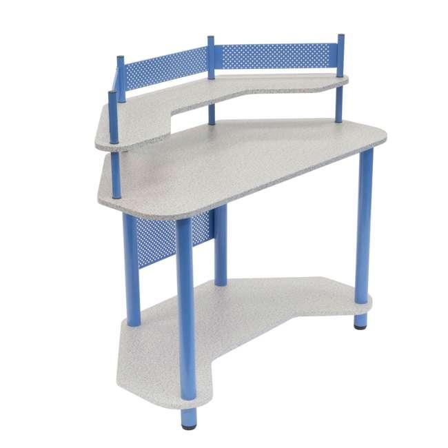 STDN-55120 Studio Designs Study Corner Desk, Blue (2 Pack)