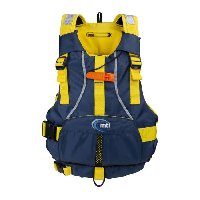 MTI-250D-0BY00 MTI Life Jackets Bob Youth Life Vest, Red