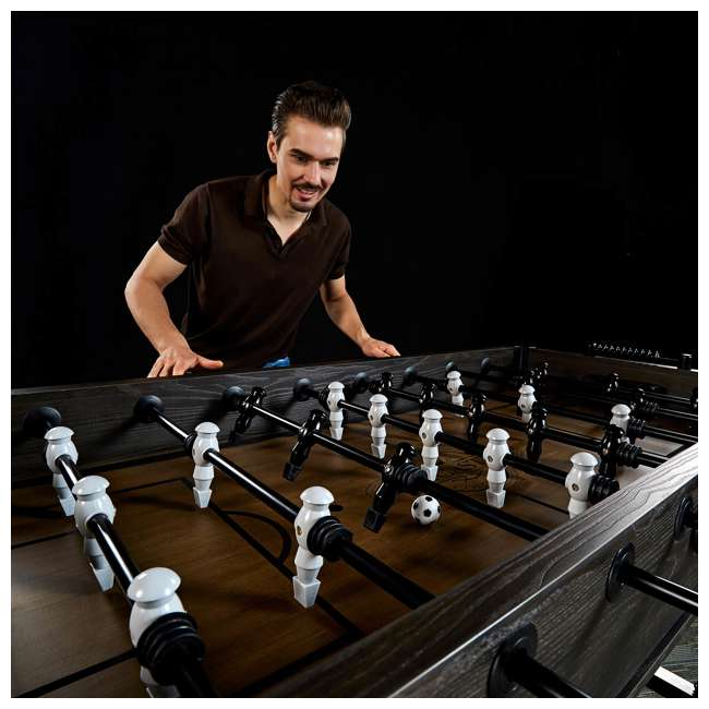 SOC056_188P Lancaster Gaming Company Loxley 56-Inch Traditional Soccer Foosball Table 5