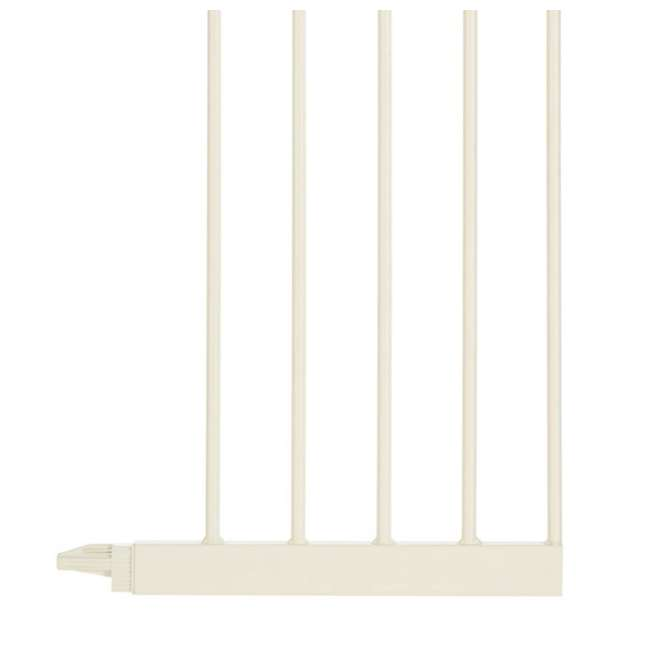 NS-4978 + NS-4974 North States Portico Arch Tall & Wide Safety Gate & 13.42 Inch Extension, Ivory 9