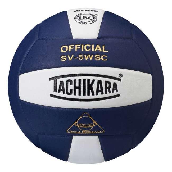 SV5WSC.NYW Tachikara SV-5WSC Sensi-Tec NFHS Competition Volleyball, Navy