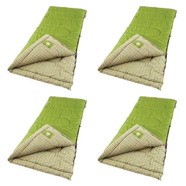 Coleman Green Valley Sleeping Bags w/ ComfortSmart Tech (4 ...