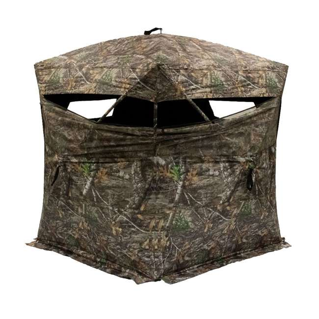 R150-RTE Rhino Blinds R150-RTE RealTree Edge 3 Person Game Hunting Ground Blind, RealTree