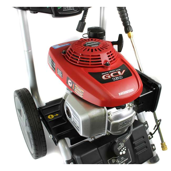 powerstroke pressure washer powerstroke ps80943 2700 psi 2 3 gpm gas powered pressure 10648