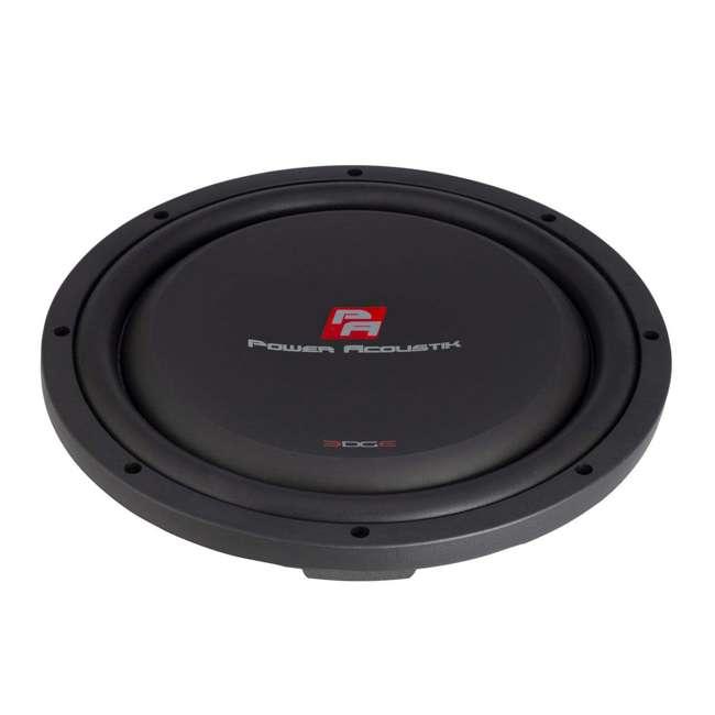 "EW-104S Power Acoustik 10"" Powerful 600W RMS Shallow Car Subwoofer Loud Speaker, Black 6"