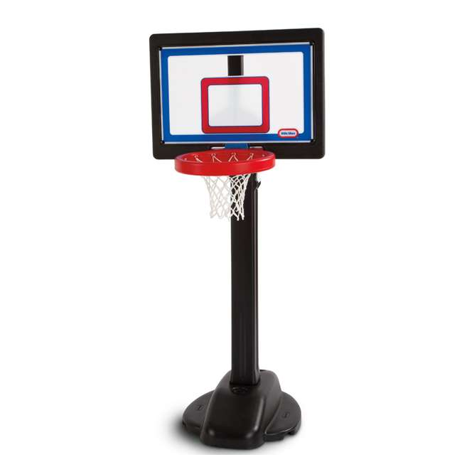 632594-U-C Little Tikes Play Pro Kids Play Toy Portable Basketball Hoop Set (For Parts) 1