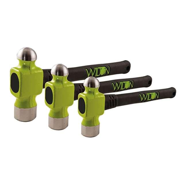 JPW-63304 + JPW-11110 Wilton WS8 8 Inch Steel Bench Vise w/ 3 Ball Peen Kit 2