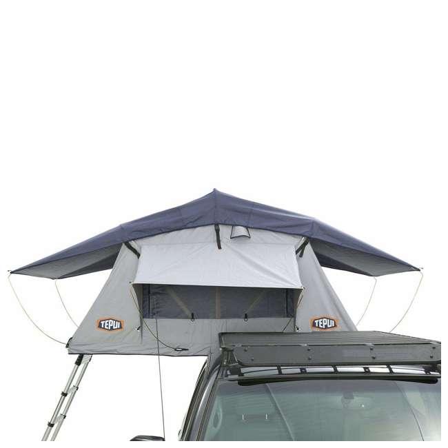 Tepui Kukenam Ruggedized Sky 3-Person Roof Top Tent, Haze Gray (Open Box)