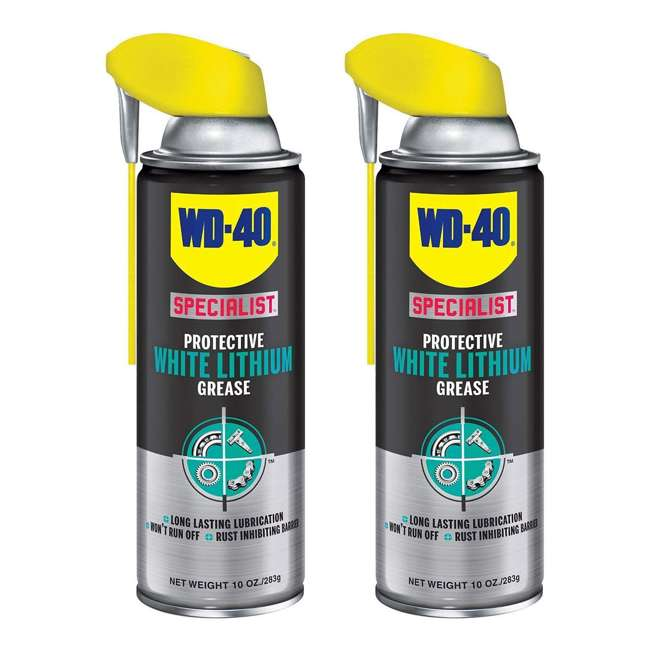 WD-300240 WD-40 Specialist White Lithium Grease Spray (2 Pack)
