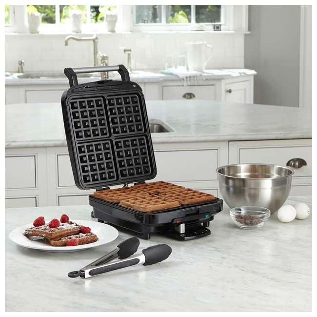 WAF-150-RB Cuisinart 4 Slice Belgian Waffle Maker (Certified Refurbished) (2 Pack) 3