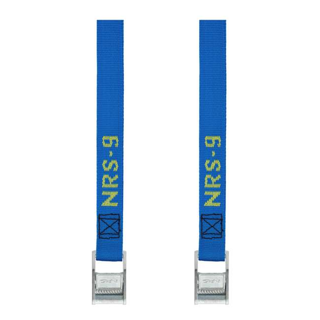 NRS_60001_01_114 NRS 1-Inch Long Heavy Duty Tie Down Strap, 9 Feet Long (Pair)