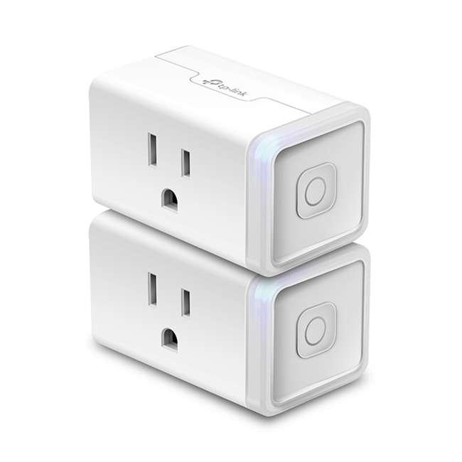 TPL-HS105KIT 2-Pk TP-Link Smart Home WiFi Voice App Control Plug Mini Homekit (Open Box)