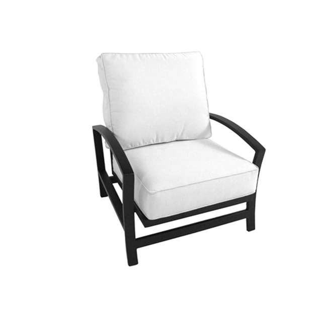 4441400-01-6111-05 Meadowcraft 4441400-01 Maddux Spring Chair Patio Seating Sectional Unit, White