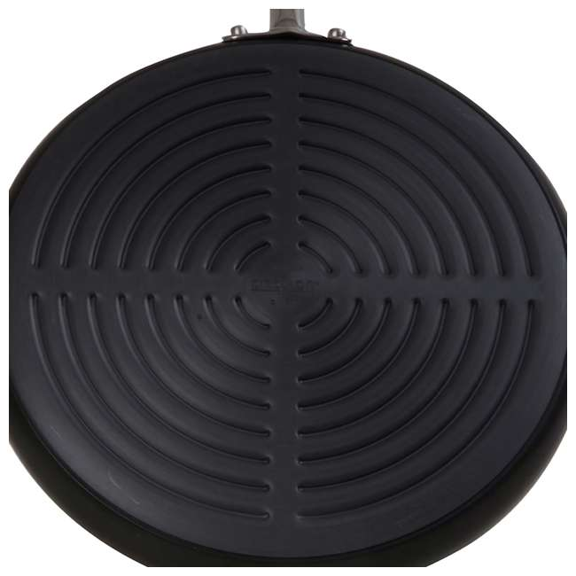 83335 Circulon Acclaim Hard Anodized 11.25-Inch Nonstick Open Deep Round Grill Pan (2 Pack) 2