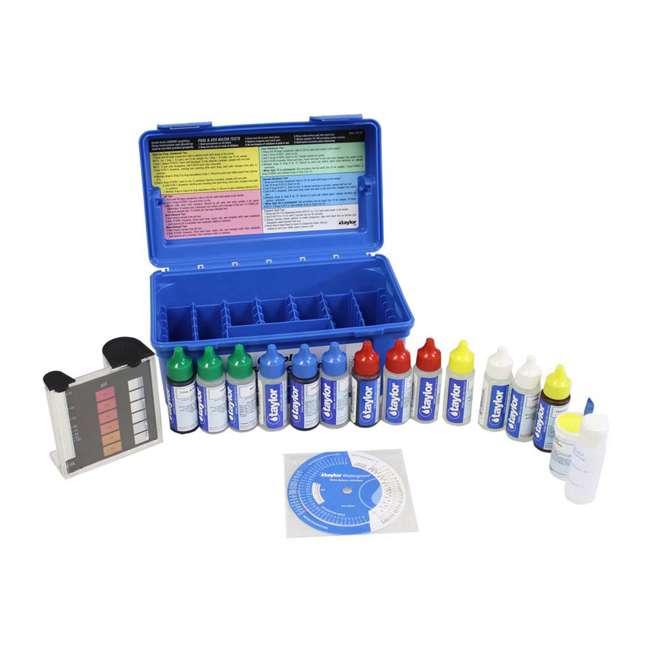 6 x K2006 Taylor K2006 2000 Swimming Pool Chlorine pH Alkaline Water Test Kit (6 Pack) 1