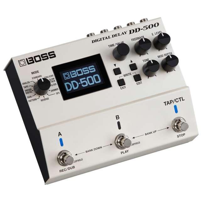 DD-500-OB Boss DD-500 Digital Delay Effects Guitar and Bass Pedal (Used)