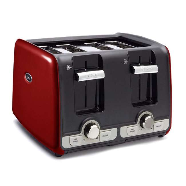 oster 4 slice toaster red tssttrwa4r. Black Bedroom Furniture Sets. Home Design Ideas