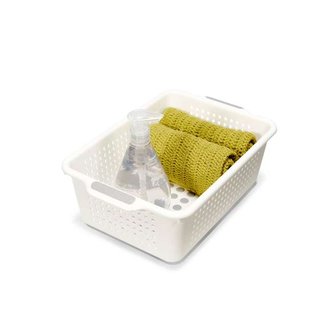 4 x 20901 Madesmart Small Kitchen Drawer Storage Basket (4 Pack) 3