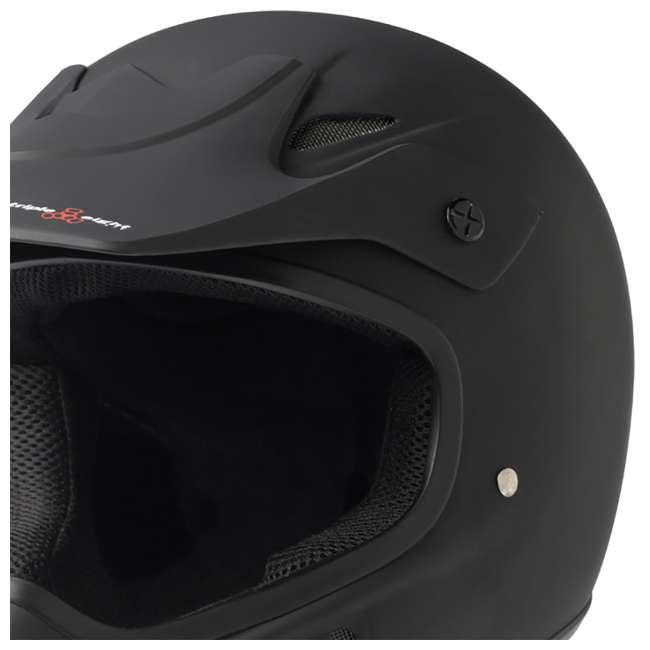 T8-3700-U-B Triple 8 Dual Certified EPS Mountain Bike Invader Helmet, Size XS/S (Used) 4