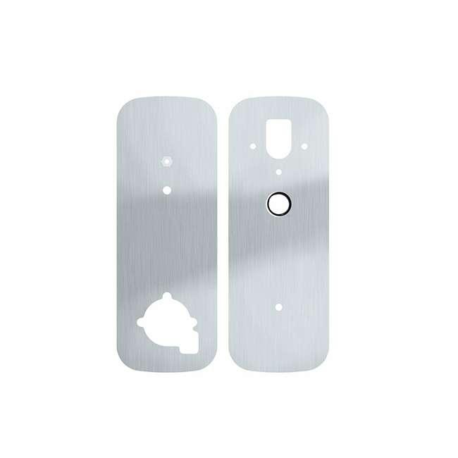 PGA006SN Lockly Deadbolt Lock Cover Plate Accessory for Secure Smart Lock, Satin Nickel