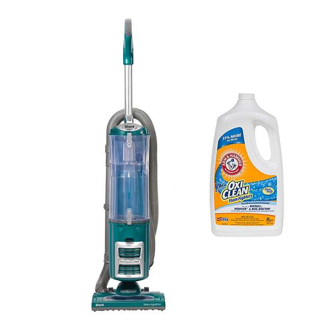 NV71GR + 69944A Shark Navigator DLX Upright Vacuum & OxiClean Carpet Washer