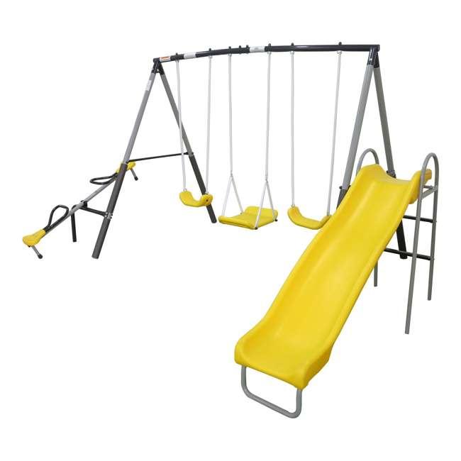 XDP-74560 XDP Recreation Swingin' Again Kids Swing Set with Slide 1
