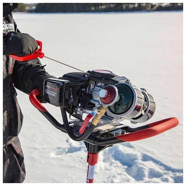 ESK-HC40Q8 Eskimo HC40Q8 8-Inch 40cc Quantum Propane Ice Auger 2