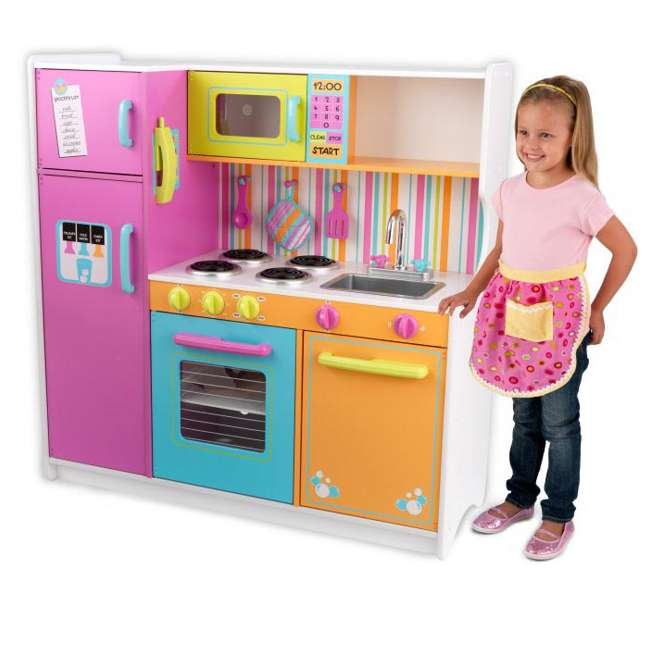 Kidkraft Deluxe Big Bright Kitchen 53100