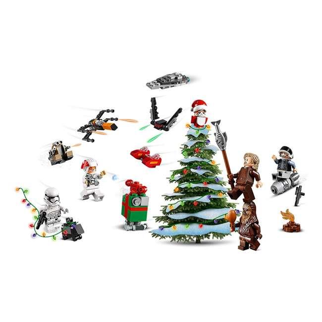 6251914 LEGO 75245 Star Wars 2019 Advent Calendar Block Building Kit w/ 6 Minifigures 5