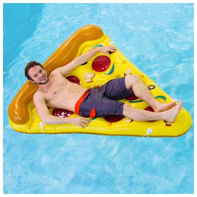 90645 Swimline Inflatable Pizza Slice Pool Float Raft 4