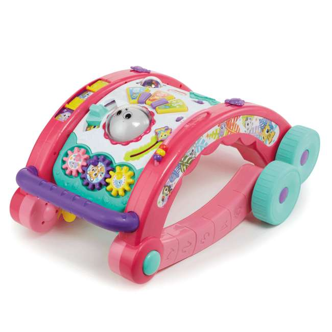 643095-U-A Little Tikes Light 'n Go 3-in-1 Baby Activity Table & Walker Toy, Pink(Open Box) 1