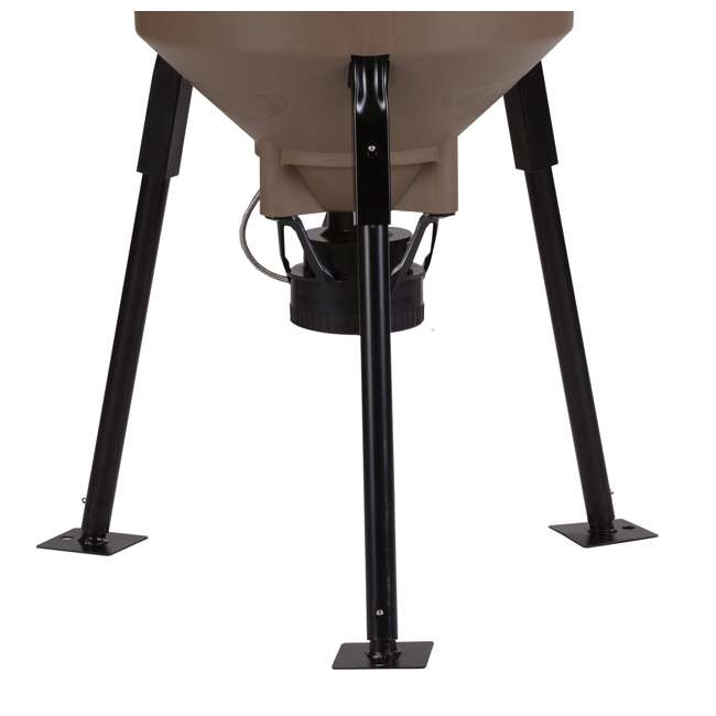 2 moultrie feedcaster pro directional tripod auto fish for Moultrie fish feeder