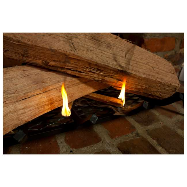 4 x BWP-09925 Betterwood Products Natural Hand Split Fatwood 25 Pound Firestarter (4 Pack) 3
