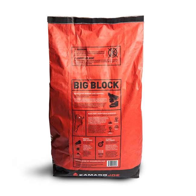 BJ24RHC + KJ-CHAR Kamado Joe Ceramic Charcoal Grill and Premium Lump Charcoal 9