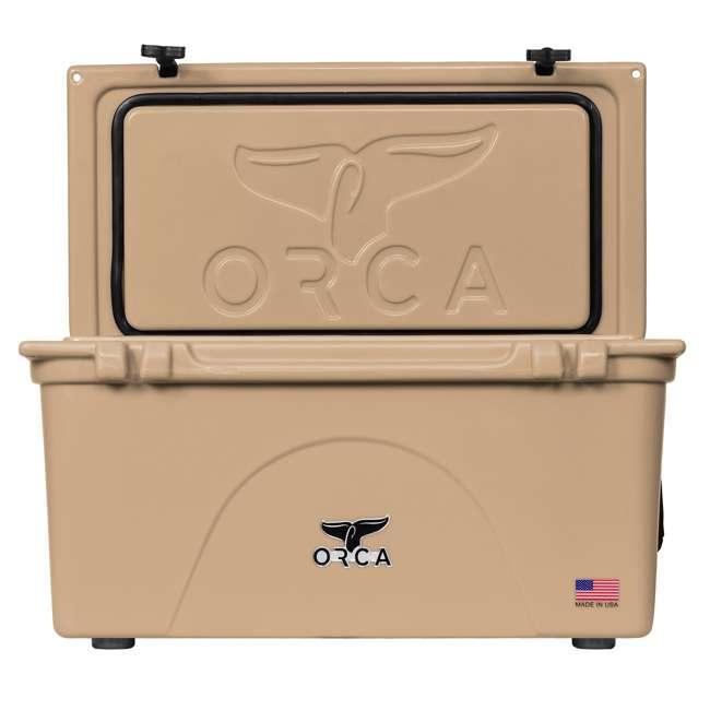 ORCT075 ORCA 75-Quart 15.6-Gallon Ice Cooler, Tan 1