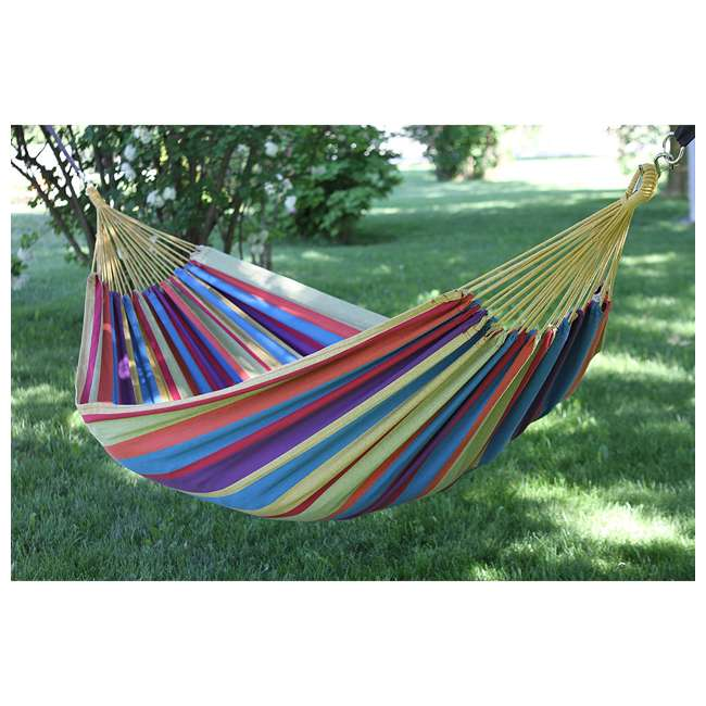 5 x BRAZ220 Vivere Brazilian Tropical 2-Person Hammock (5 Pack) 4