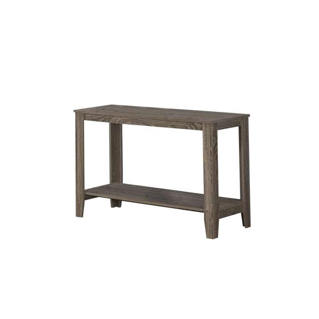 VM-7915S-U-A Monarch Specialties 44 Inch Accent Console Hall Table, Dark Taupe (Open Box)