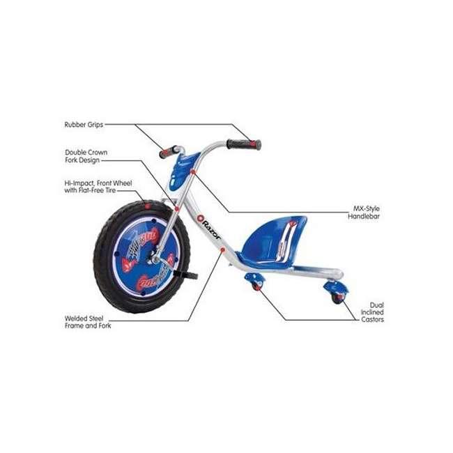 20036542 Razor Rip Rider 360 (Blue) 1