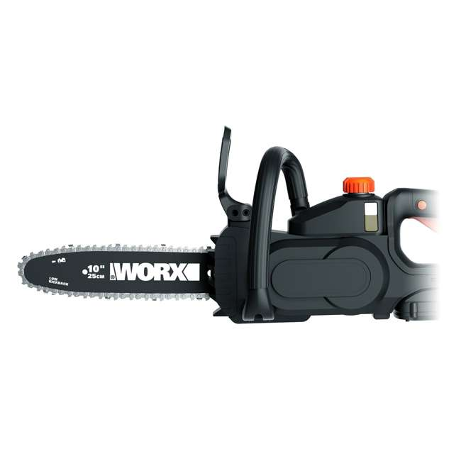 """WG323-U-C Worx 20V 10"""" Auto Tension Electric Pole Chainsaw, Battery & Charger (For Parts) 6"""