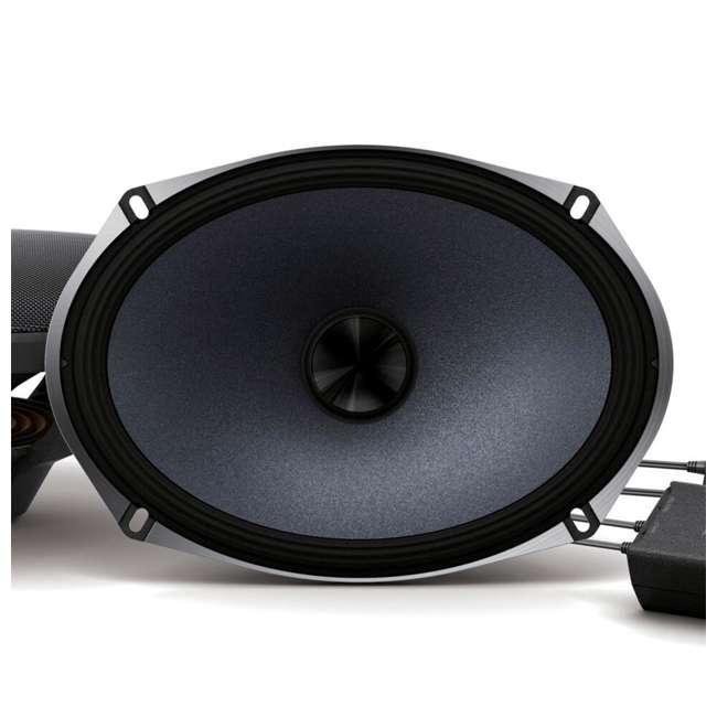 X-S69C-OB Alpine X-Series 6x9 Inch 360-Watt Component Speaker System 2