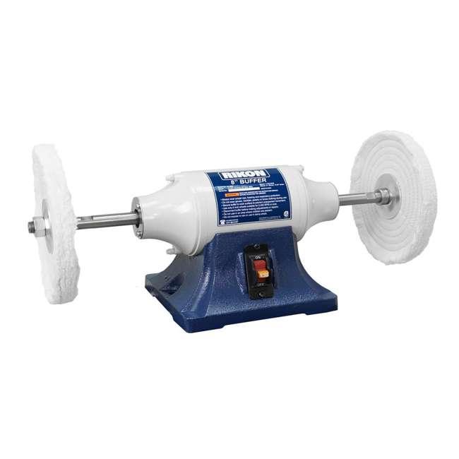 81-608 Rikon Power Tools 81-608 8-Inch 0.5 Horsepower Low-Speed Long Shaft Buffer