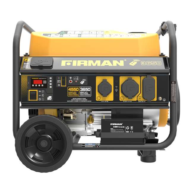 P03608 Firman P03608 3650W Wheeled CARB Portable Generator with Remote 3
